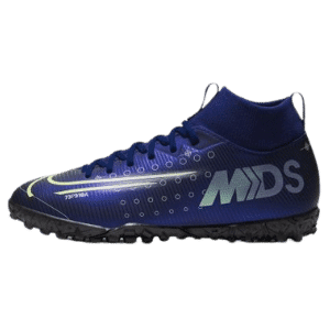 Jr. Mercurial Superfly 7 Club MDS IC Little/Big Kids' Indoor/Court Soccer Shoe (5Y) Blue